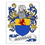 Markham Coat of Arms Small Poster