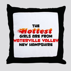 Hot Girls: Waterville V, NH Throw Pillow