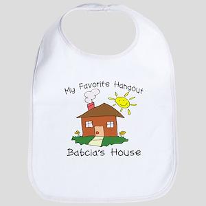 Babcia House Bib