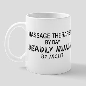 Massage Therapist Deadly Ninja Mug