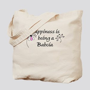 Happiness Is Babcia Tote Bag