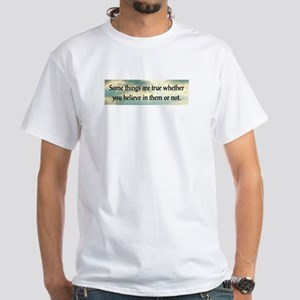 Truth White T-Shirt