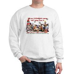 CanineCancerAwareness Sweatshirt