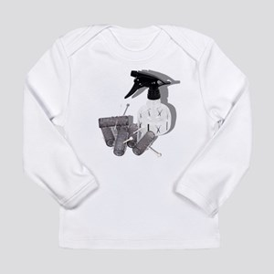 Hair Rollers and Spray Bottle Long Sleeve T-Shirt