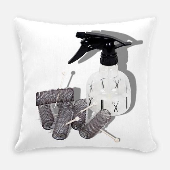 HairRollersWaterSprayer060910shado Everyday Pillow
