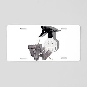 HairRollersWaterSprayer0609 Aluminum License Plate