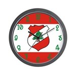 Lebanon Flag Wall Clock