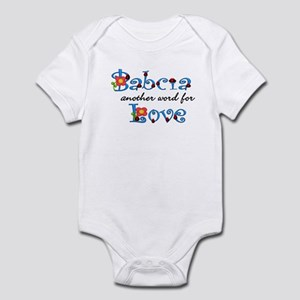Babcia Another Word LOVE Infant Bodysuit