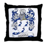 Merrill Coat of Arms Throw Pillow