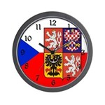 Czech Flag Wall Clock