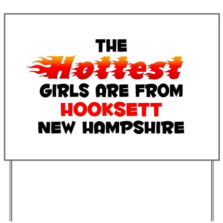 Hot Girls: Hooksett, NH Yard Sign