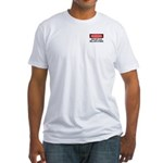 Does Not Play Well Fitted T-Shirt