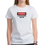 Contains Nuts Women's T-Shirt