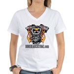 V TWIN Women's V-Neck T-Shirt