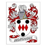 Montague Coat of Arms Small Poster