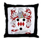 Montague Coat of Arms Throw Pillow