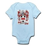 Montague Coat of Arms Infant Creeper