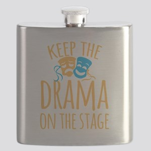 Keep the DRAMA on the stage Flask