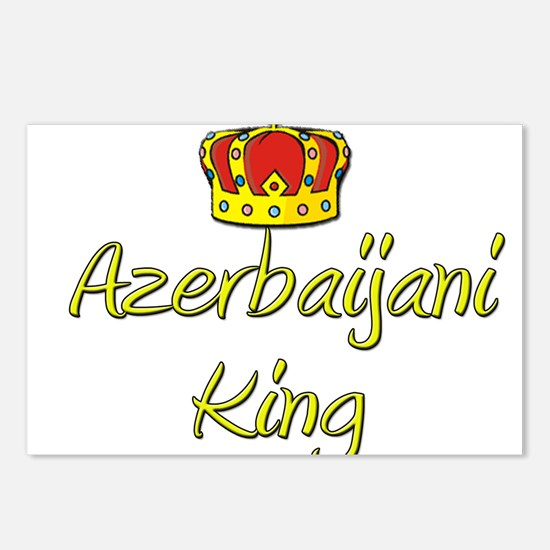Azerbaijani King Postcards (Package of 8)