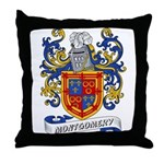 Montgomery Coat of Arms Throw Pillow
