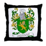 Morgan Coat of Arms Throw Pillow