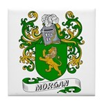 Morgan Coat of Arms Tile Coaster