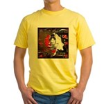 Cat Sagittarius Yellow T-Shirt