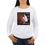 Cat Sagittarius Women's Long Sleeve T-Shirt