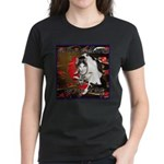 Cat Sagittarius Women's Dark T-Shirt