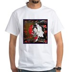 Cat Sagittarius White T-Shirt