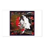 Cat Sagittarius Postcards (Package of 8)
