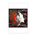 Cat Sagittarius Mini Poster Print