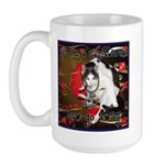 Cat Sagittarius Large Mug