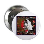 "Cat Sagittarius 2.25"" Button"