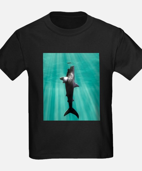 Megalodon prehistoric shark with human T-Shirt
