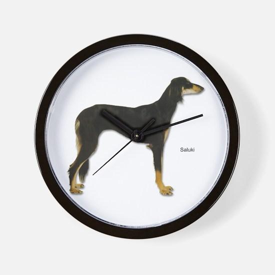 Saluki Dog Wall Clock