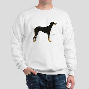 Saluki Dog (Front) Sweatshirt