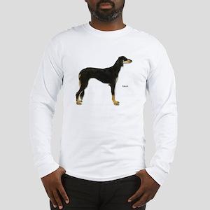 Saluki Dog (Front) Long Sleeve T-Shirt