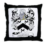 Munsell Coat of Arms Throw Pillow
