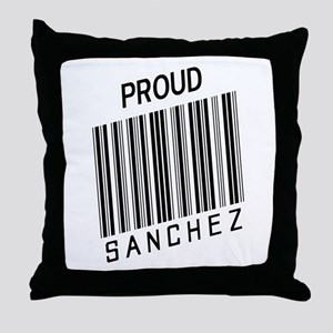 Proud Sanchez Throw Pillow