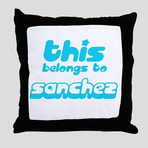 this belongs to Sanchez Throw Pillow