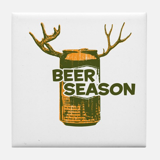 Cute Hunting humor Tile Coaster