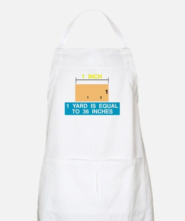 1 Yard is Equal to 36 Inches BBQ Apron