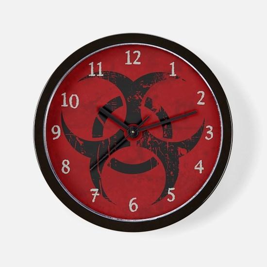 Biohazard (Wall Clock)