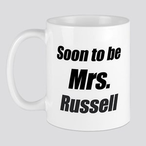 Soon to be mrs Russell Mug