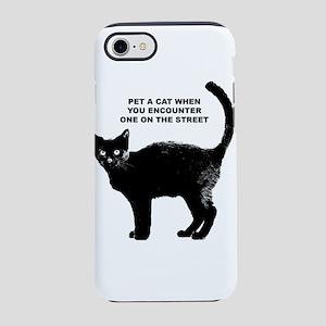 PET A CAT iPhone 8/7 Tough Case