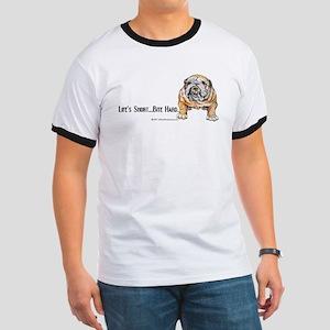 Bulldog Bite for Dog lovers Ringer T