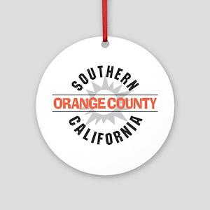 Orange County California Ornament (Round)