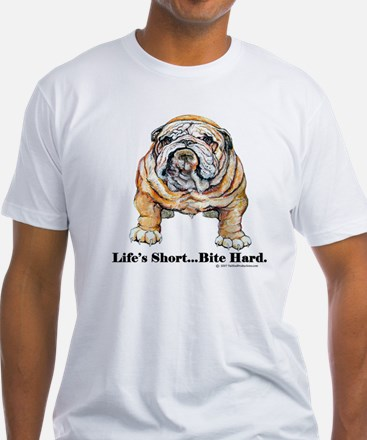 Bulldog Bite for Dog lovers Shirt