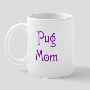 Pug Mom 16 Mug